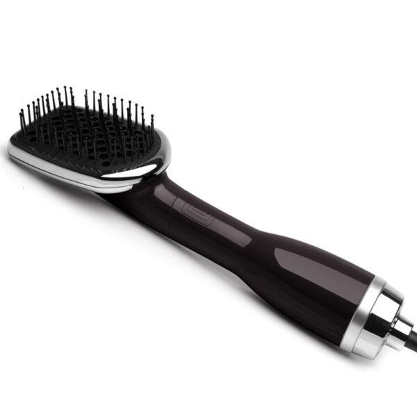 3in1 Blower Brush Hair Dryer Black Royale Hair Styling