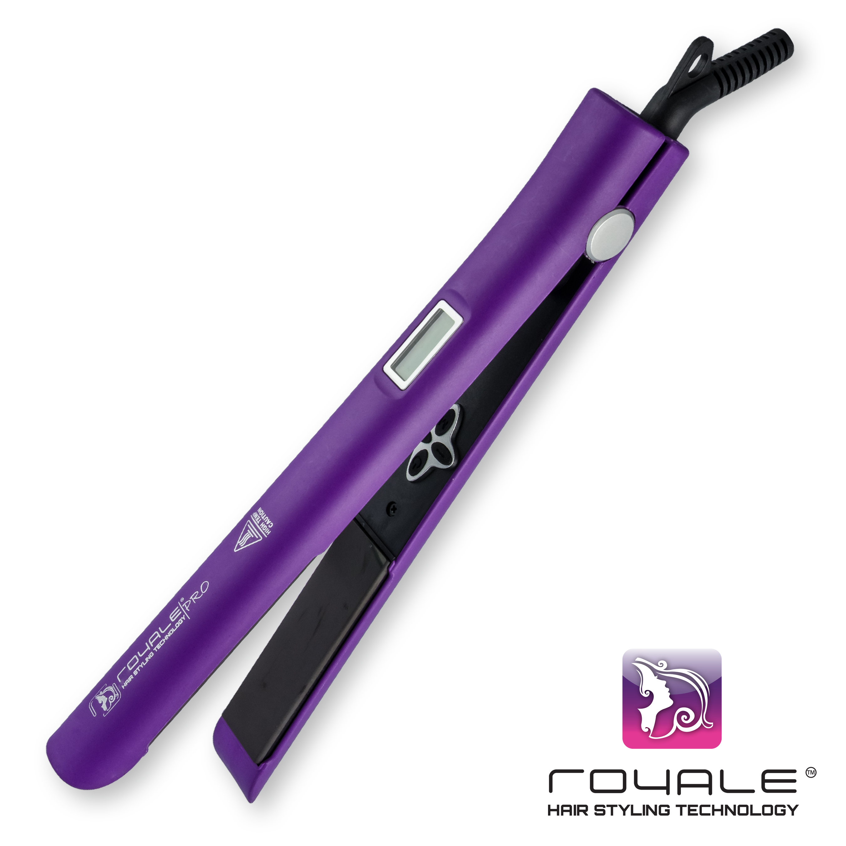 Royale Purple Lilac Smart Hair Straightener Royale Hair